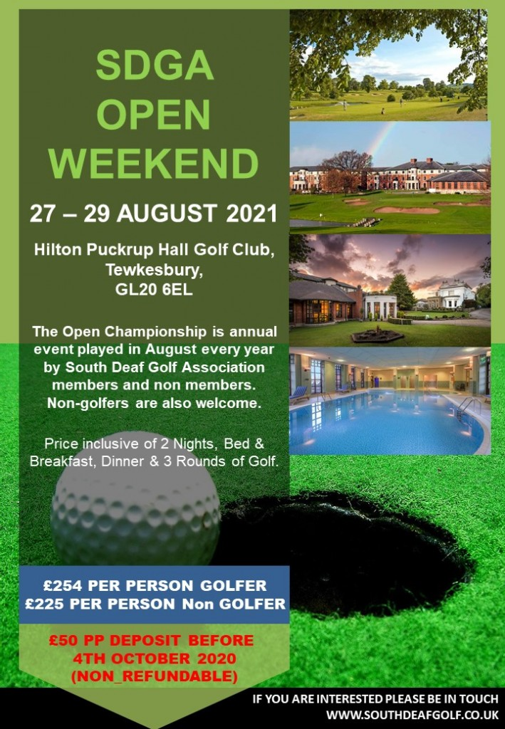 20TH ANNUAL OPEN WEEKEND 2021
