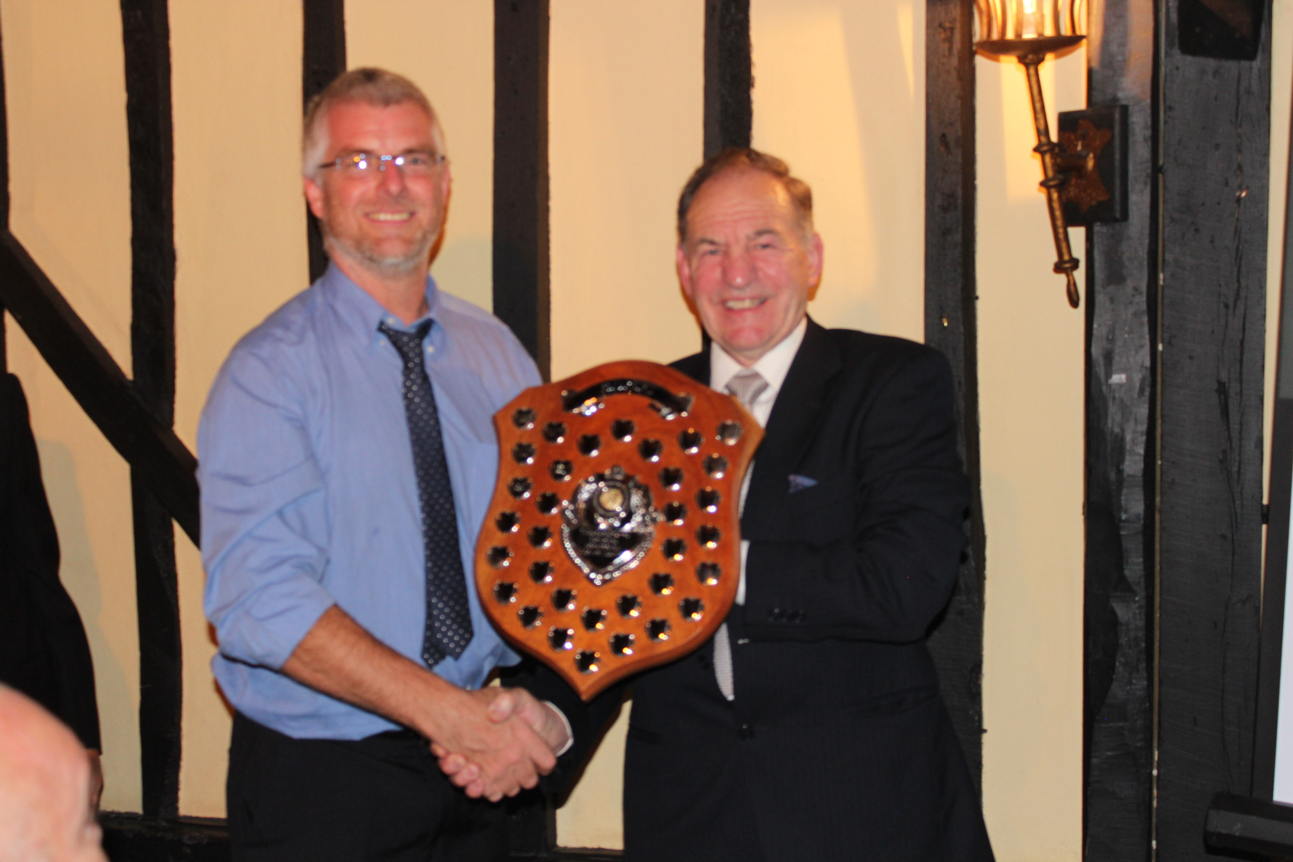 Stableford Shield Winner